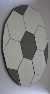 Specchio tondo composto