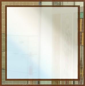 Specchio quadrato composto