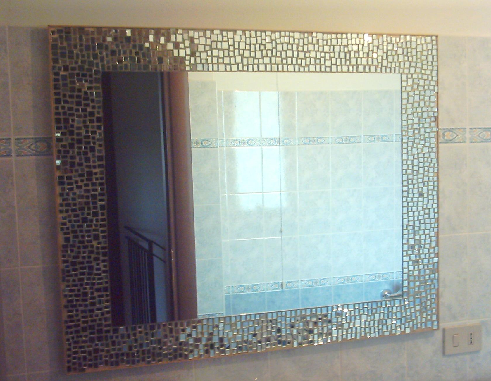 Specchi Decorati Per Bagno.Specchi Decorati A Mosaico Oostwand