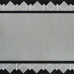 Specchio rettangolare composto